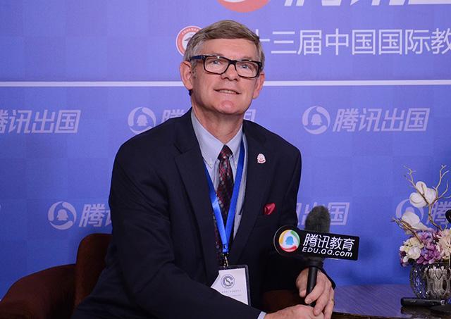 美国特洛伊大学Dr.Hank Dasigner:加强国际化合作