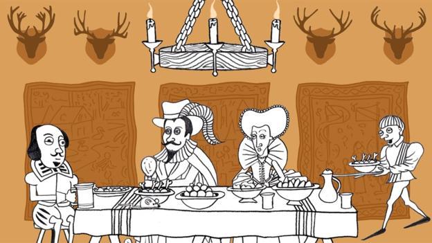 """莎士比亚用腌菜""""pickles""""这个单词来形容人喝多了"""