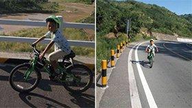 男孩骑行数千公里 计划穿越无人区