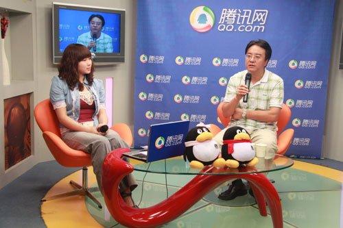 田明老师(右)做客腾讯讲解风险管理备考要点