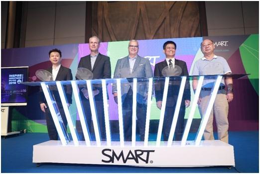 全球教育与商务行业互动屏领导者SMART正式入华