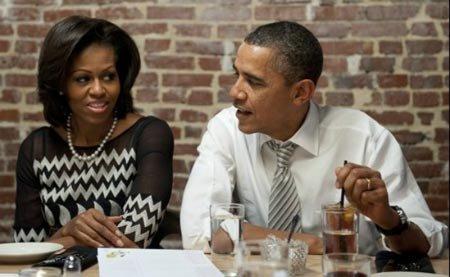 双语阅读:奥巴马披露与米歇尔首次约会细节