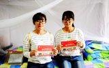 双胞胎姐妹考入同校同院系