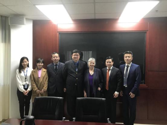 英国国际教育协会参访中国教育电视台
