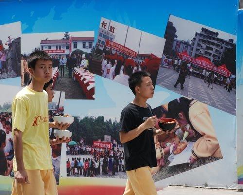 本网记者探秘新北川中学 校长称最需要人才