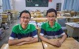 双胞胎分别考入北大、上交大
