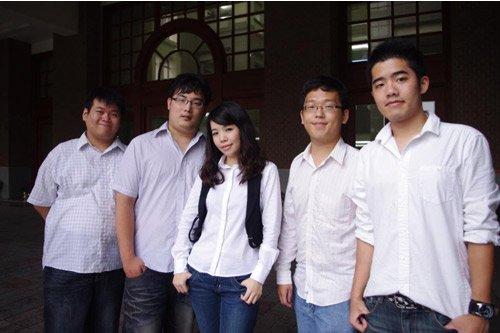 台湾大学代表台湾地区入围本次晋级赛