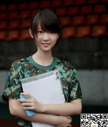 原标题:美女教官最嫩学妹大集合 你最喜欢哪一个   刘艺晗,大连工业