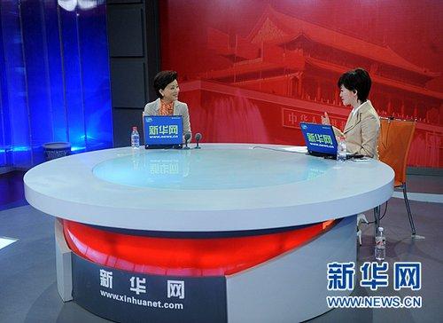 杨澜:作为母亲最重要的是培养孩子健康的心态
