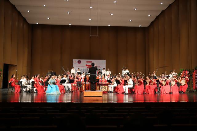 清华附中金帆民乐团庆祝新中国成立70周年系列音乐会