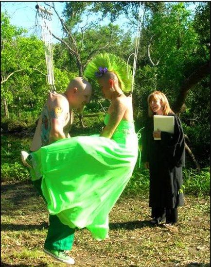 疯狂的浪漫:史上十大最疯狂的婚礼