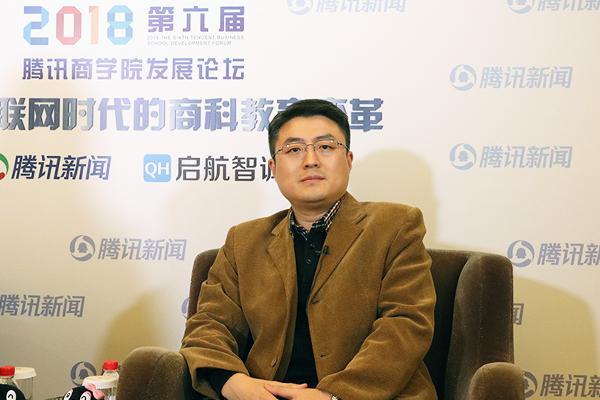 北邮经管院副院长马晓飞:技术叠加管理 科学融合艺术