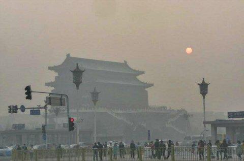 英语热词:北京雾霾+厨房废气是真凶?