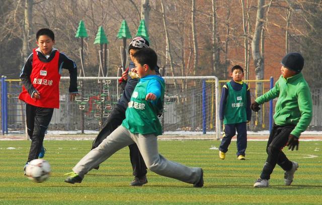 清华附小丁香体育团之足球社团