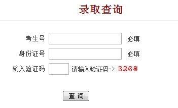 2013年上海电力学院高考录取查询系统