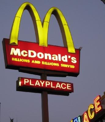 怎样用英语在麦当劳点餐?