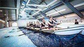 剑桥斥资617万建室内赛艇练习池