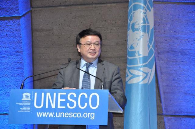 中国中小学生走进联合国教科文组织总部