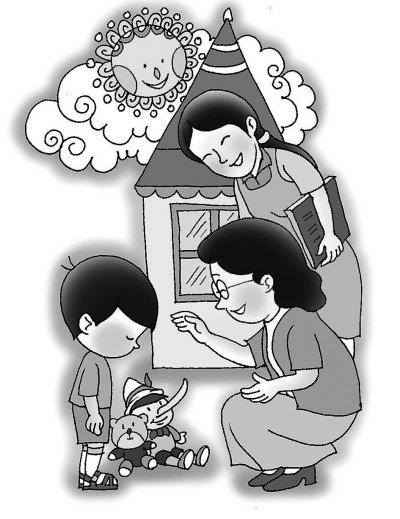 学前儿童在向成年人描述事情时经常发生所述与事实