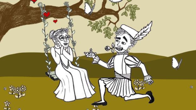 """莎士比亚用英语形容虚无缥缈的幻想为""""愚人的天堂"""""""