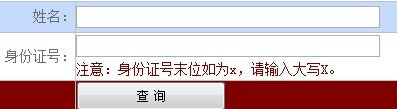 2013年沈阳师范大学高考录取查询系统
