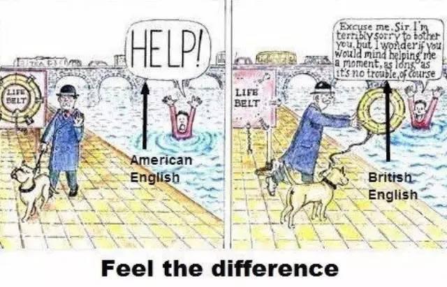 一篇文章看懂英式英语与美式英语的区别