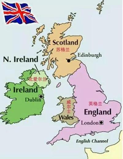 英国百强大学分布图 你心仪的学校在哪里?