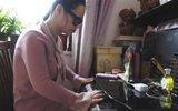 盲人参加考试 老师读题辅助