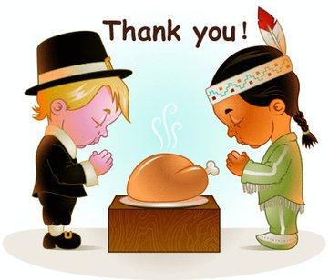 感恩节英语故事:关于感恩节的由来和历史