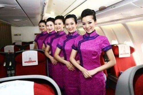 盘点全球空姐制服 高清图片