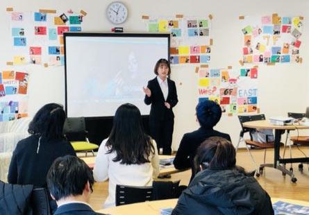 金吉列留学及媒体代表团探访日本知名大学
