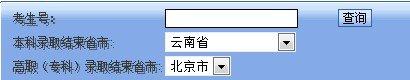 2013年北京中医药大学高考录取查询系统