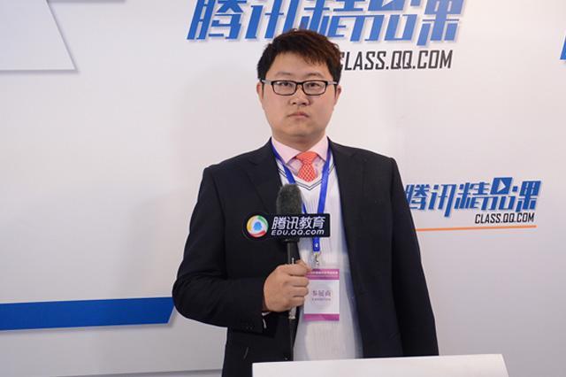 特伦特大学中国区刘沛霖:为学生提供好的语言环境