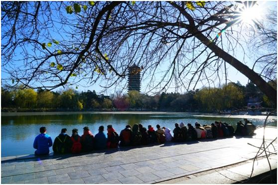 """北京三中举办""""今天,进北大""""生涯课程实践体验活动"""