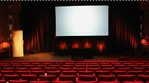 A movie theatre