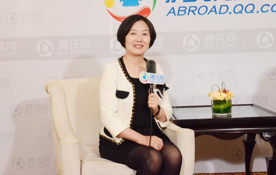 美通教育总监李楠楠 尽早做出合理的留学规划