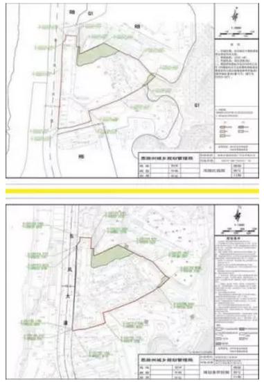 州城凤凰山公园大门旁这块地到底要建什么?