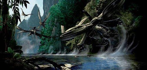 卡梅隆 化身 剧情揭秘 外星版 风中奇缘