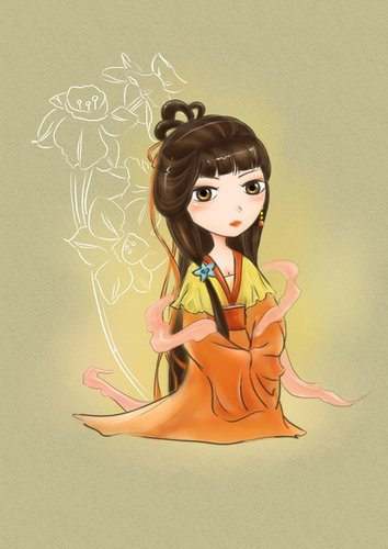 组图:《欢天喜地七仙女2》人物手绘图