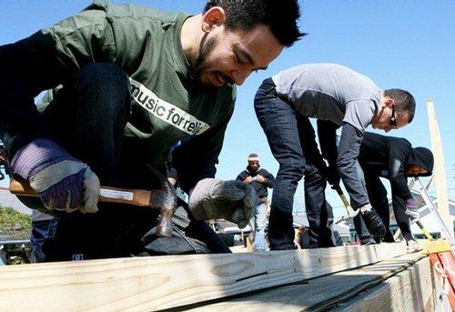 林肯公园呼吁环保 门票部分收入用作慈善事业