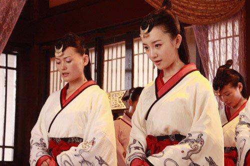 张檬演绎汉代皇后卫子夫