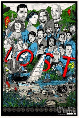 《迷失》最终季手绘海报登场
