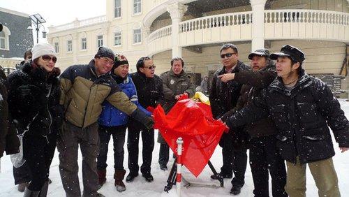 《七仙女2》大雪中开机 杨若兮变麻辣仙女(图)