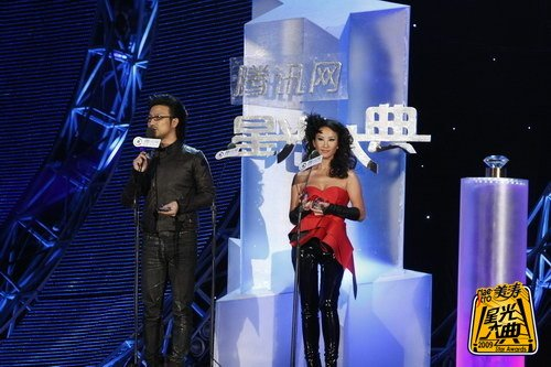 汪峰、李玟获09年星光大典年度专辑荣誉