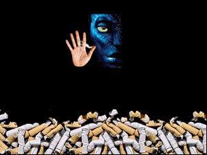 美禁烟人士怒批《阿凡达》登广告提醒青少年