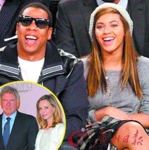 碧昂斯Jay-Z年入1.22亿美元 成年度最赚钱夫妻