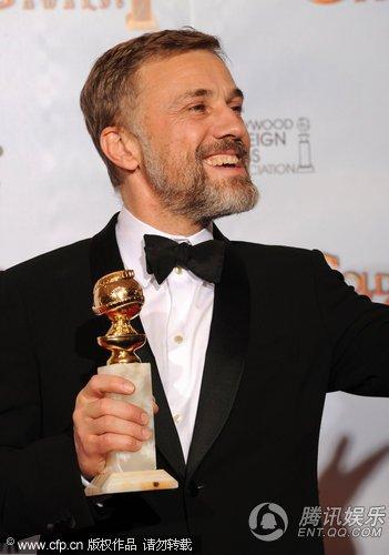 克里斯托夫凭借《无耻的混蛋》获最佳男配角
