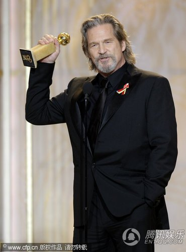 杰夫·布里吉斯夺得剧情类电影最佳男主角奖