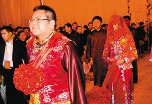 车晓与李兆会大婚 纯中式婚礼没有明星助阵(图)