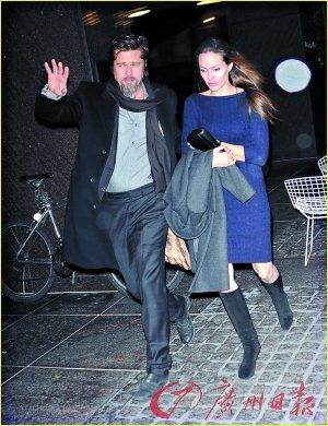 皮特朱莉被爆离婚分家产 发言人澄清:胡说!